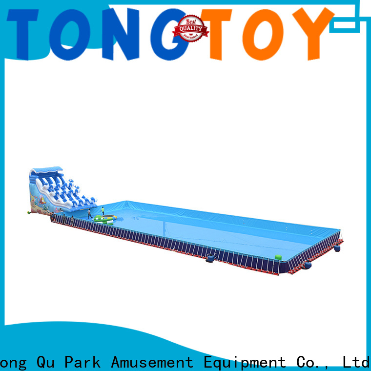 Best commercial blow up water slide order now for swimming pool