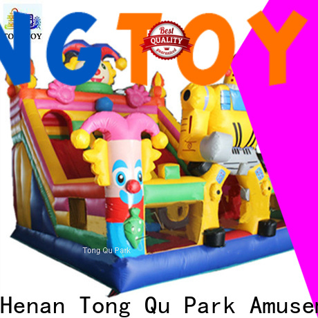 Heat resistant baby bounce house supplier for kids