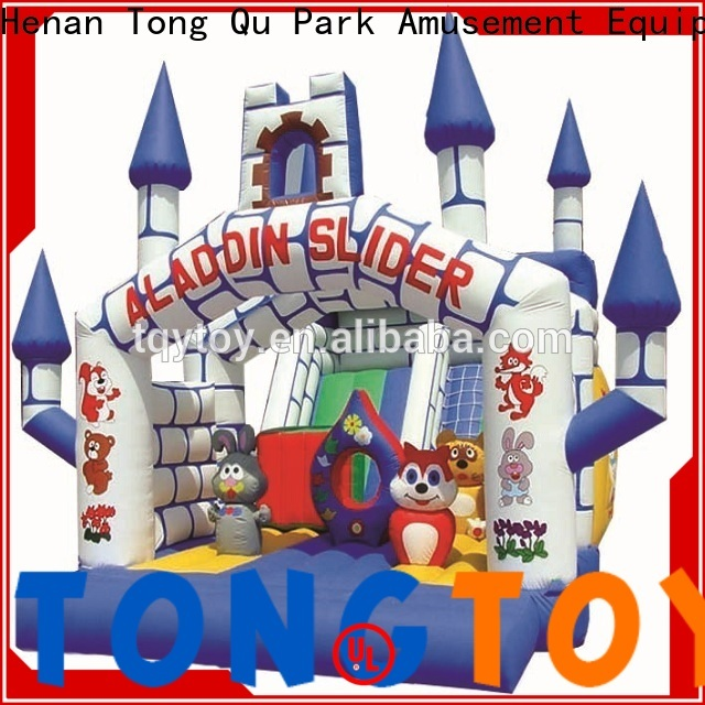 Tongtoy colorful kids jump house supplier for outdoor