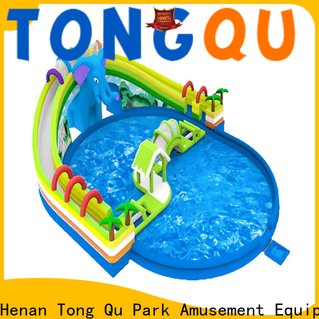 Tongtoy Latest commercial water slide order now for swimming pool