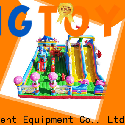 Tongtoy fire-resistant toddler bounce house wholesale for adult