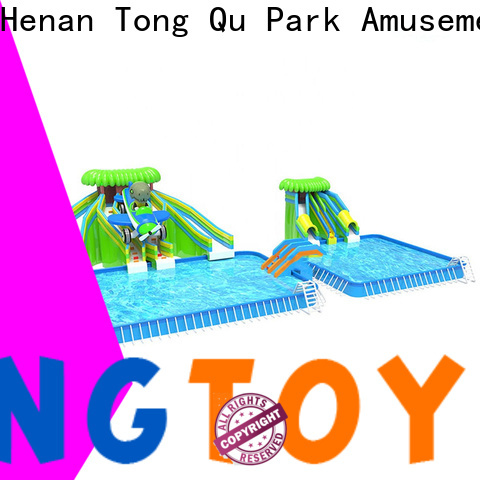 customized inflatable water slip and slide factory price