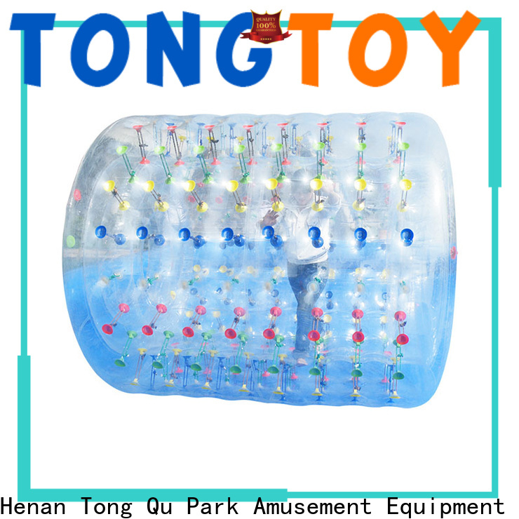 Tongtoy inflatable human hamster ball reputable manufacturer for water park
