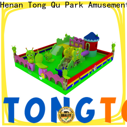 Tongtoy Heat resistant bounce round inflatable supplier for outdoor