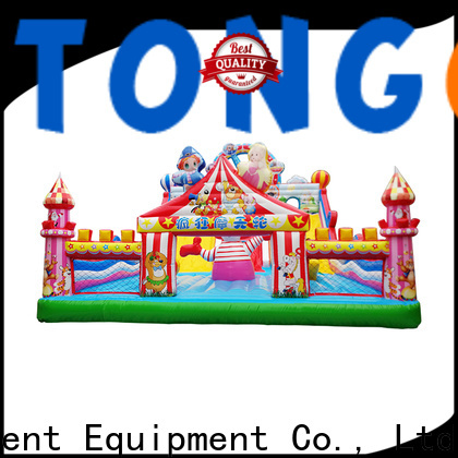Heat resistant children's bounce house supplier for outdoor