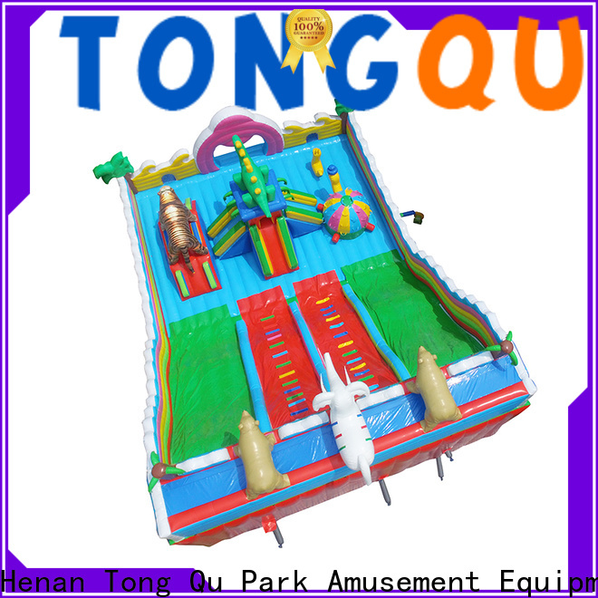 Tongtoy fire-resistant giant blow up water slide supplier for kids