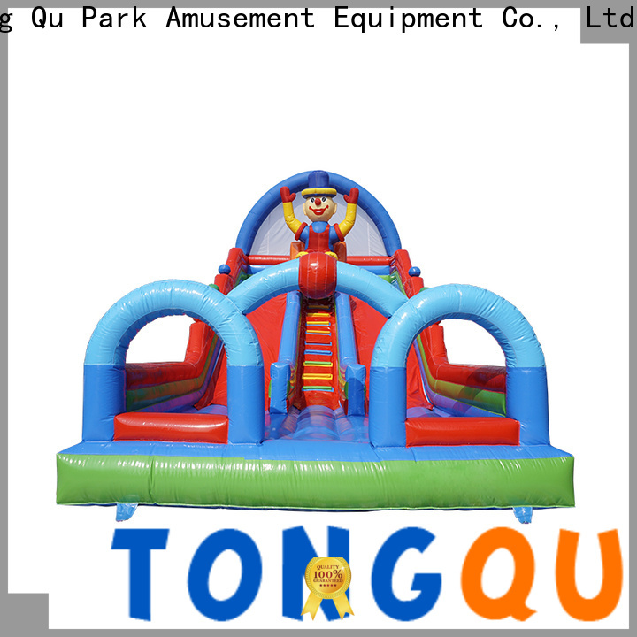 Tongtoy New adult blow up slide from China for amusement park