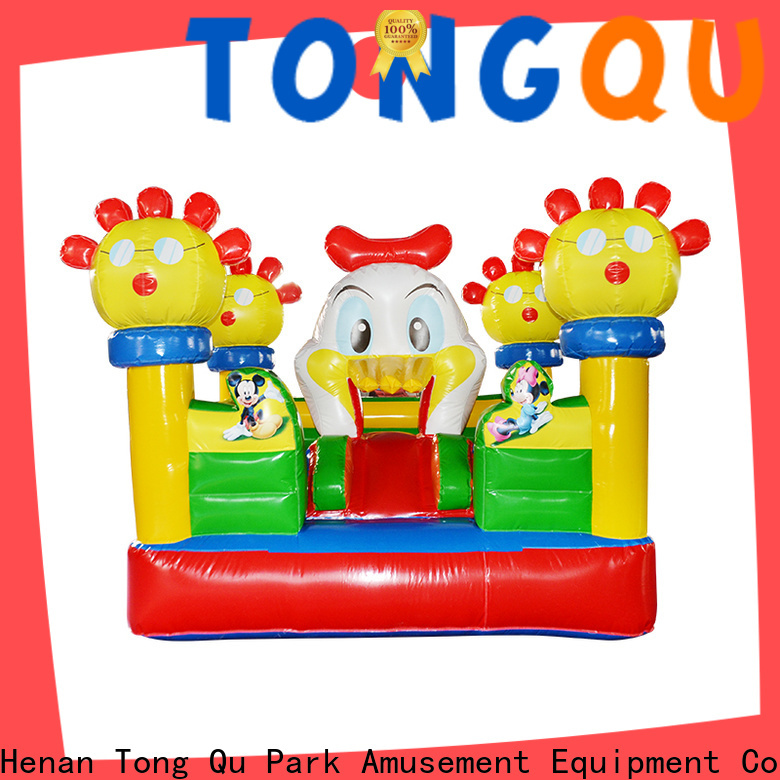 Tongtoy blow up bounce house supplier for outdoor