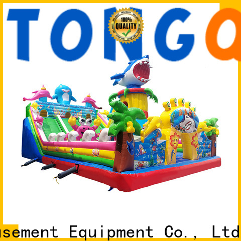 Tongtoy Durable sports bounce house supplier for kids