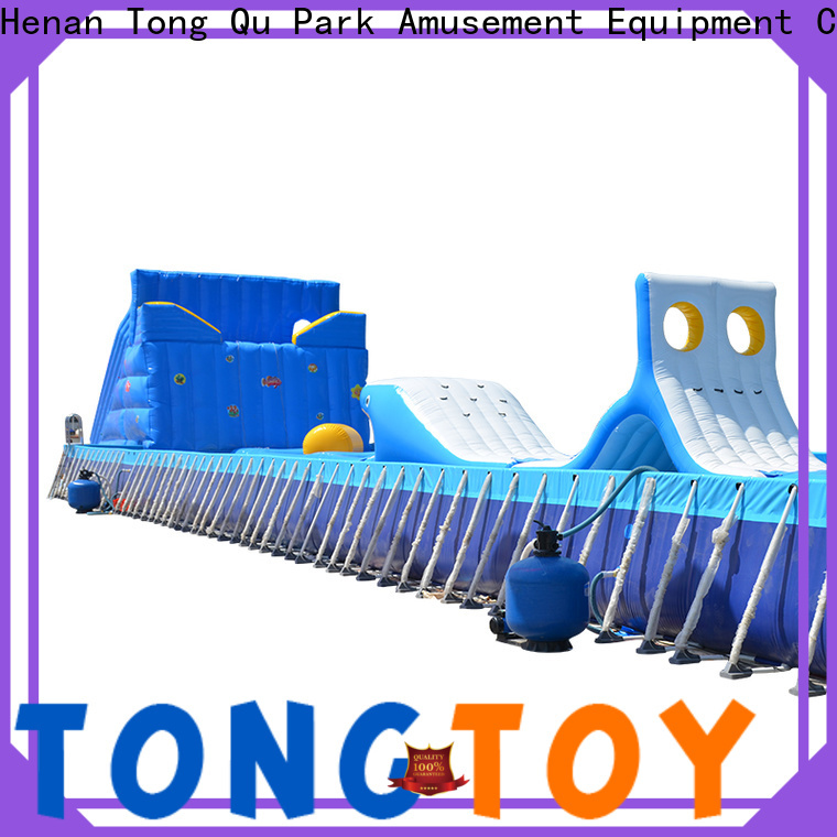 Tongtoy sports obstacle course factory for adult