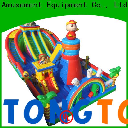 Tongtoy Heat resistant inflatable water bouncer wholesale for kids