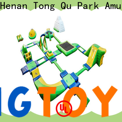 Tongtoy Wholesale bouncy castle water park Supply for playground
