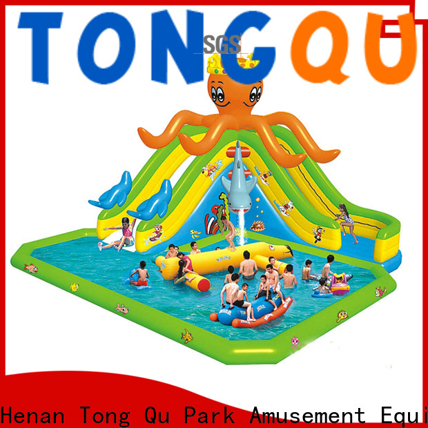 Tongtoy Wholesale inflatable wet slide reputable manufacturer for swimming pool