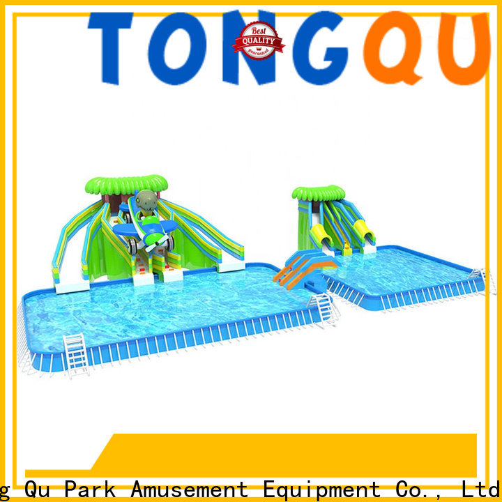 Tongtoy moon bounce water slide Suppliers for water park