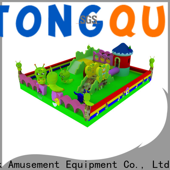 Tongtoy Heat resistant commercial inflatable bounce house supplier for kids