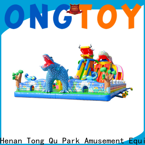 Tongtoy bouncy water slide inquire now for kids