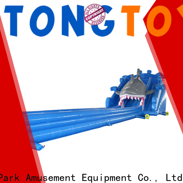 Top moon bounce water slide factory price for water park