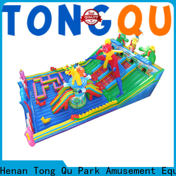 water-proof inflatable bouncers with slide wholesale for adult