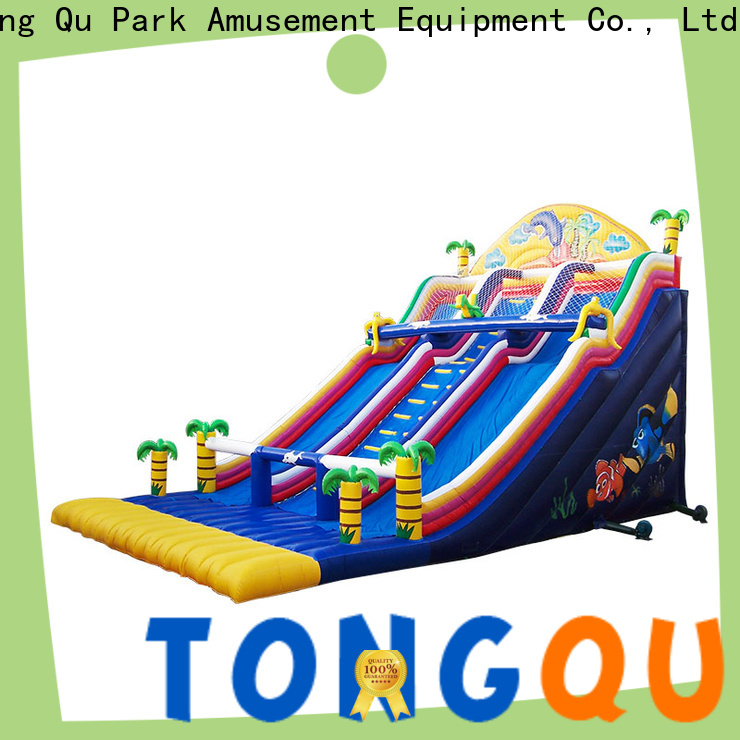 Tongtoy inflatable bounce slide combo reputable manufacturer for indoor