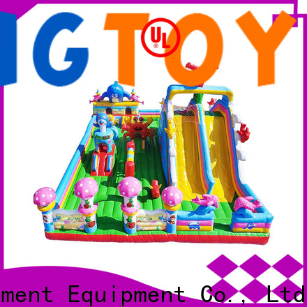 Tongtoy water bounce house wholesale for outdoor