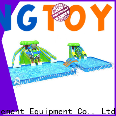 Tongtoy party water slides factory price for water park