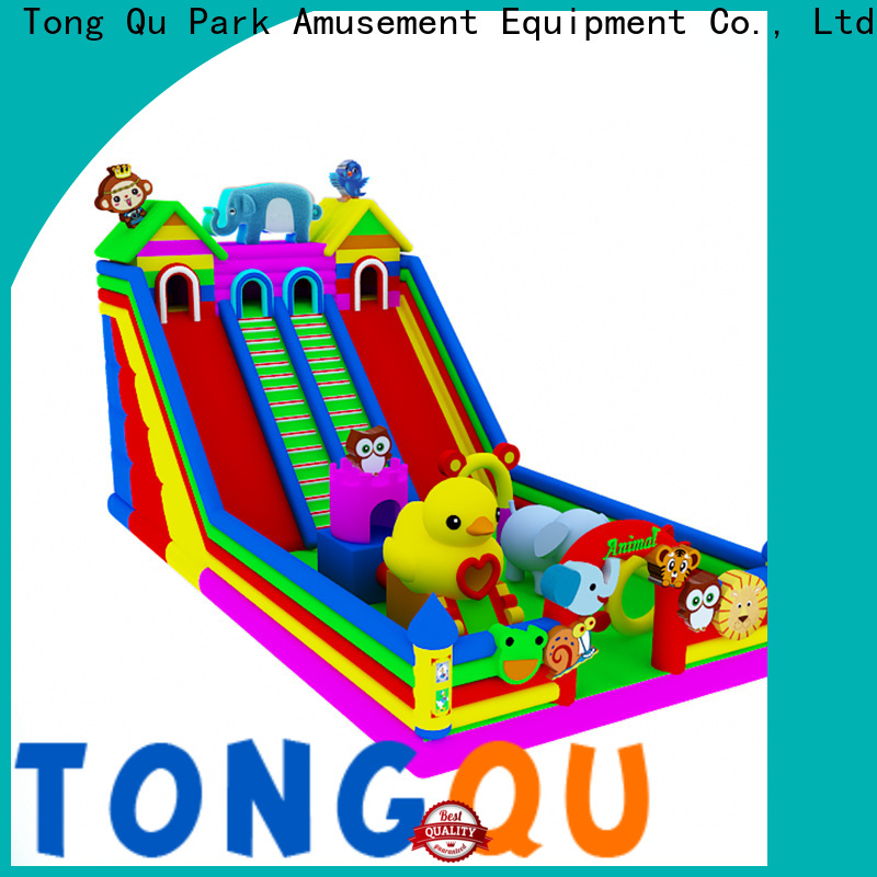 Tongtoy blow up slide factory price for indoor