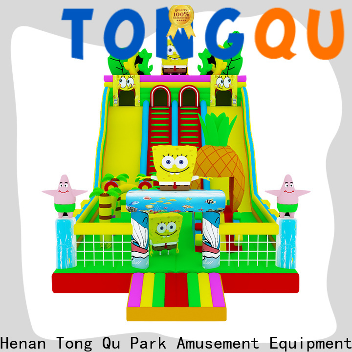 Tongtoy New adult inflatable slide from China for indoor