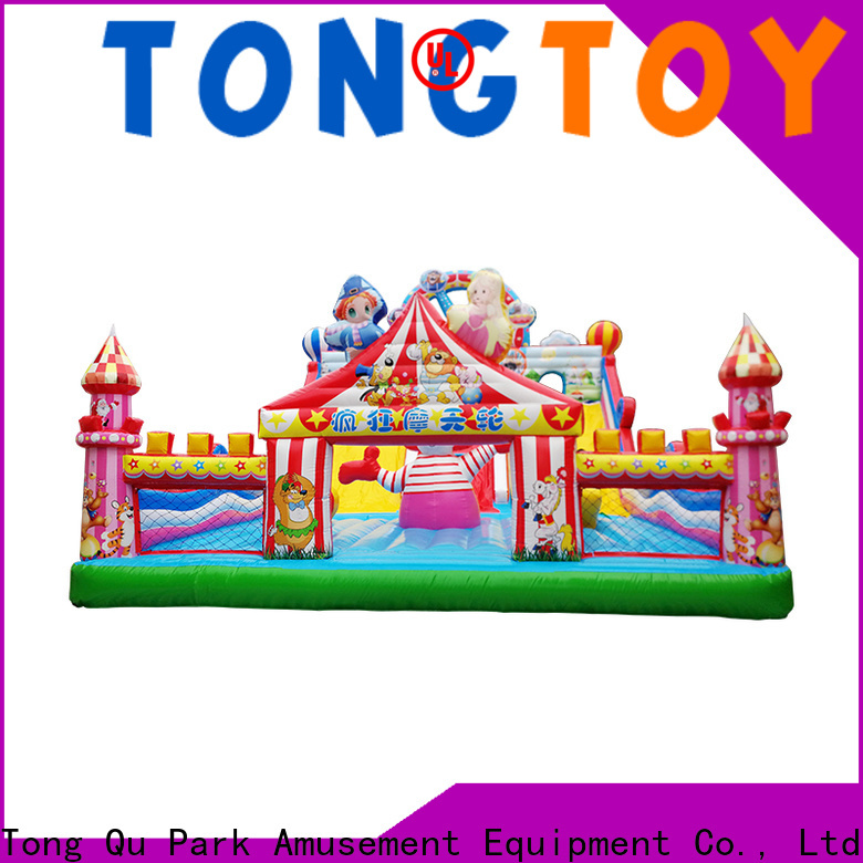 Tongtoy biggest inflatable water slide supplier for kids
