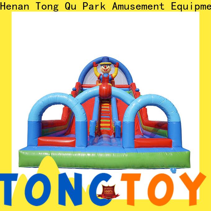 Tongtoy Custom giant inflatable slide from China for outdoor