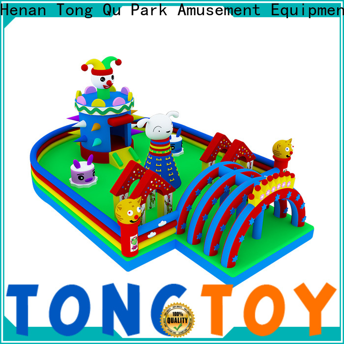 Tongtoy moonwalk bouncers supplier for adult