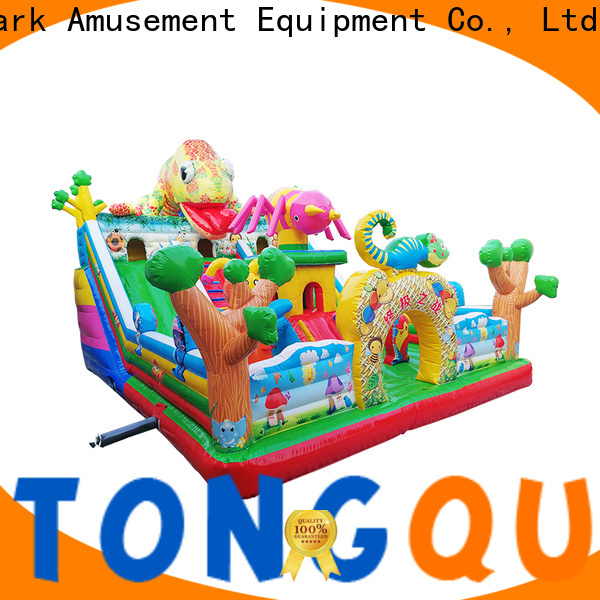 Tongtoy sports bounce house supplier for kids