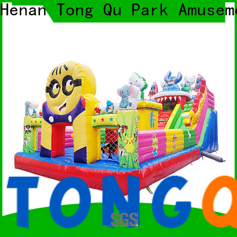 Tongtoy Heat resistant blow up castle supplier for adult