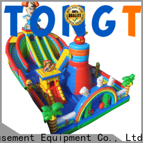 Tongtoy fire-resistant big water slides for sale inquire now for kids