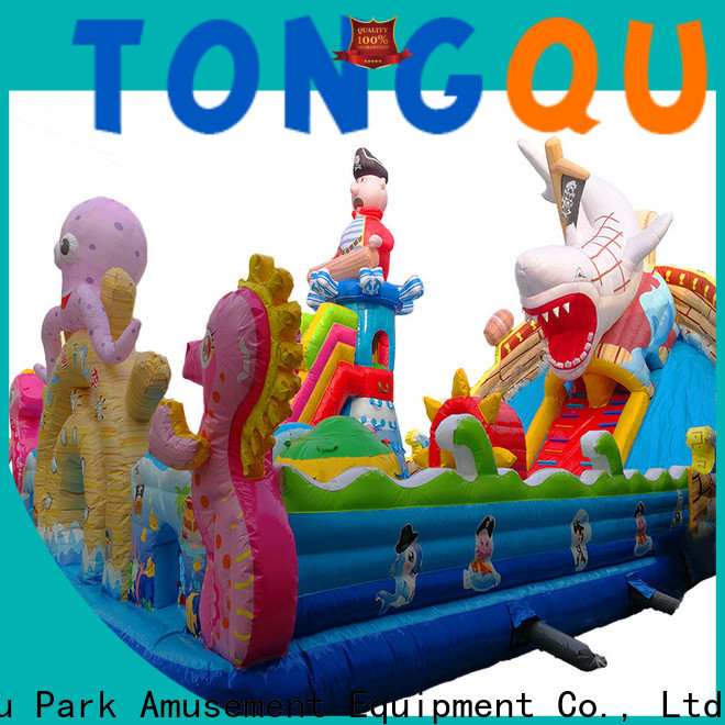 colorful unicorn water slide wholesale for adult