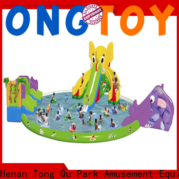 Tongtoy kids blow up water slide manufacturers