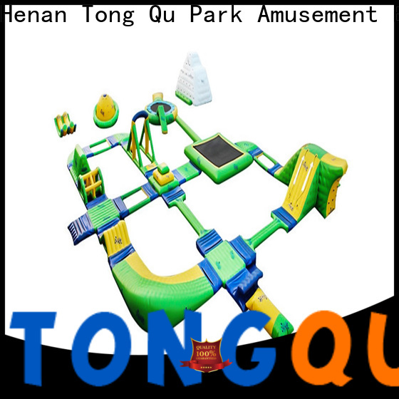 Tongtoy world's largest inflatable water slide company for water park