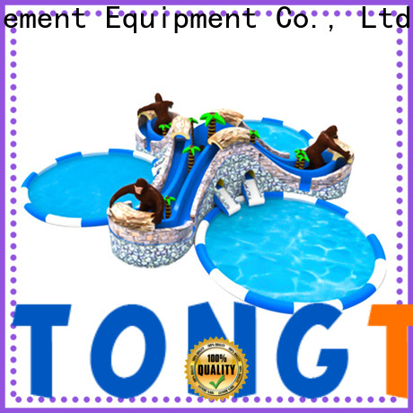 Tongtoy Wholesale toddler blow up water slide for business for swimming pool