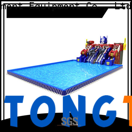 water-proof large inflatable slide order now