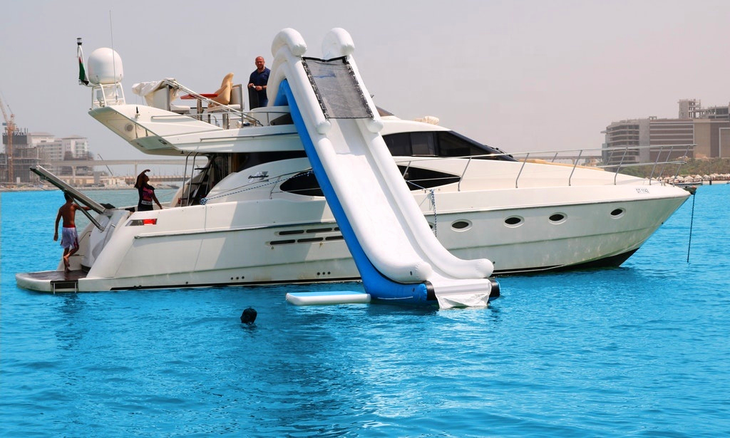 Inflatable escape slides emergency aircraft escape slide  Inflatable Adult Yacht Slide