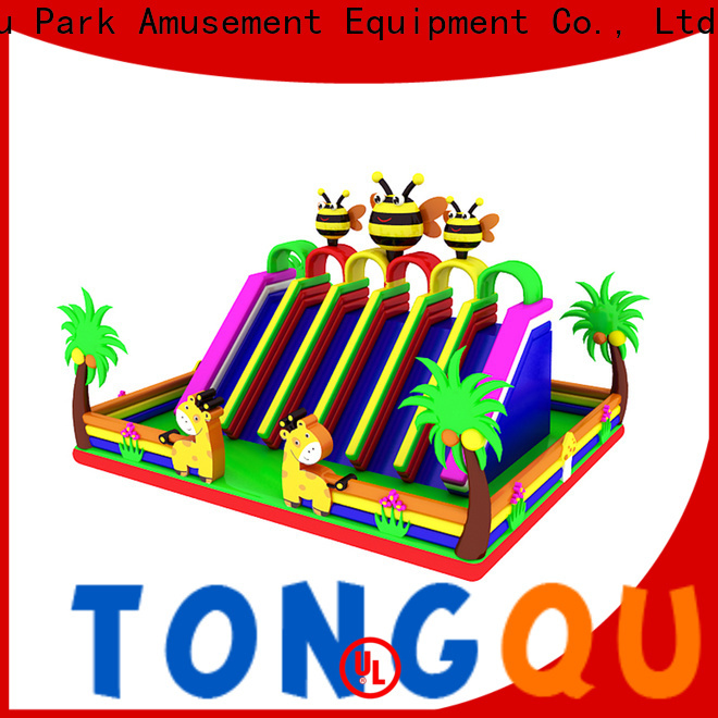 Tongtoy adult blow up slide factory price for amusement park
