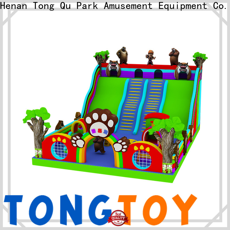 Tongtoy indoor inflatable slide reputable manufacturer for outdoor