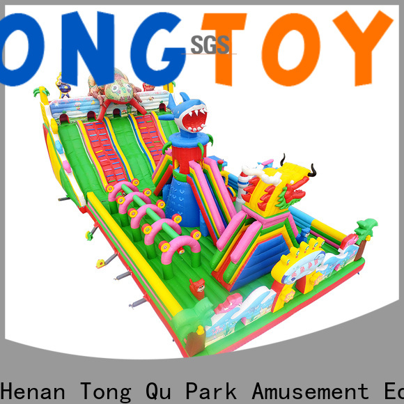 Tongtoy inflatable water slides for adults wholesale for adult