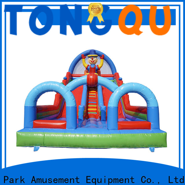 Custom castle bounce house with slide reputable manufacturer for outdoor