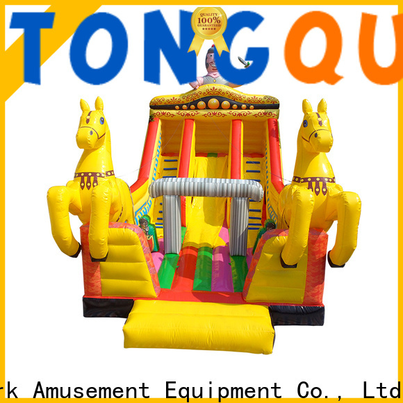 Tongtoy adult inflatable slide from China for amusement park