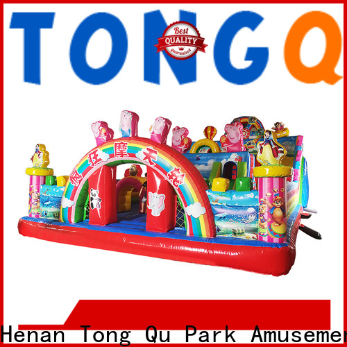 Tongtoy water bouncer with slide inquire now for adult