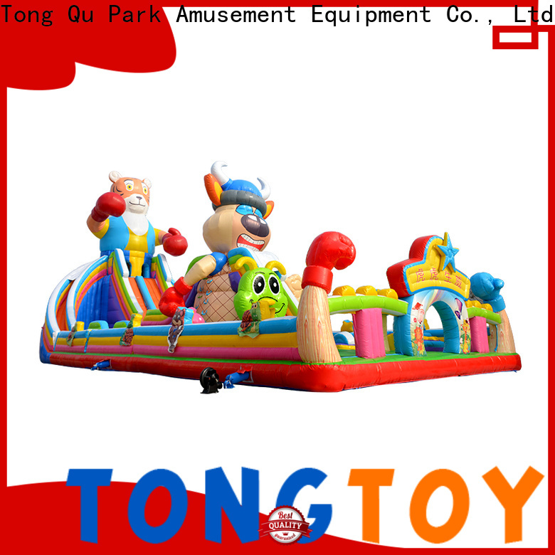 Tongtoy spiderman bouncer wholesale for kids