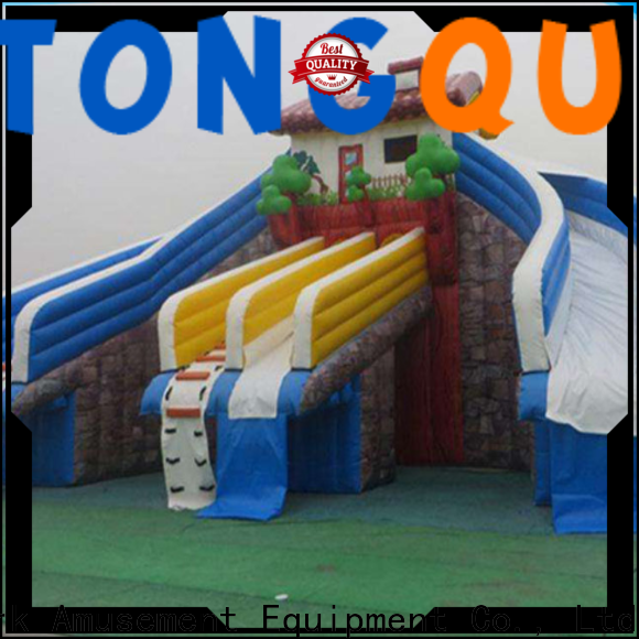 Tongtoy water-proof unicorn water slide company