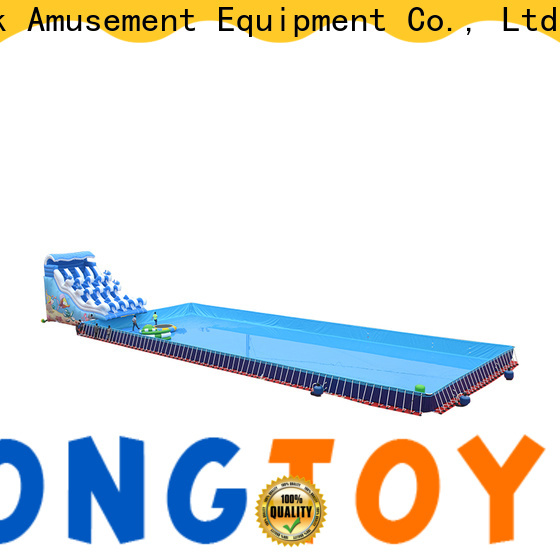 Tongtoy Wholesale bouncy water house manufacturers for swimming pool
