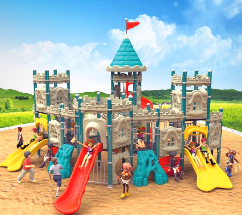 High quality children playground equipment playground slide in stock