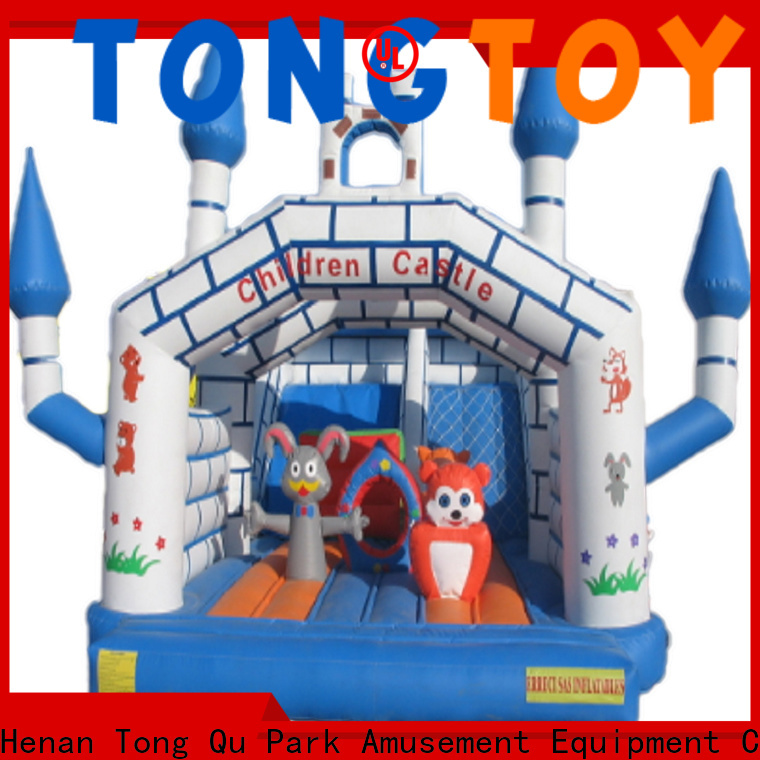 Durable inflatable bounce slide wholesale for outdoor